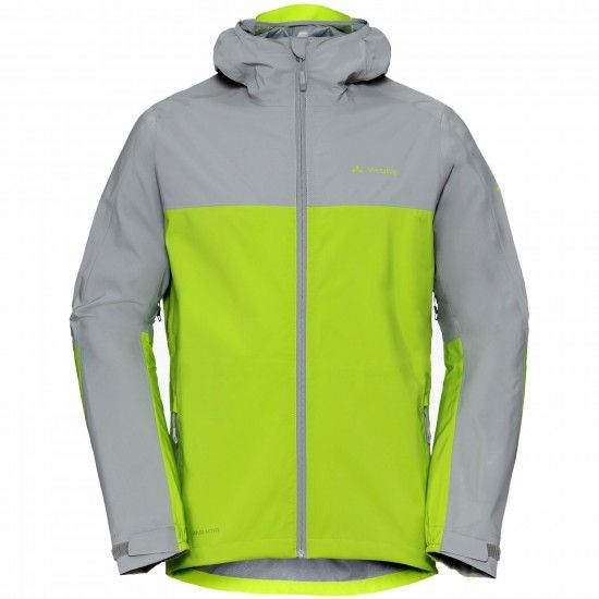 Vaude Moab Rain Jacket Waterproof Cycling Jacket Chute Green