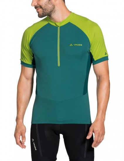Vaude Men Advanced Tricot Iv Short Sleeve Cycling Jersey Green (Petroleum)