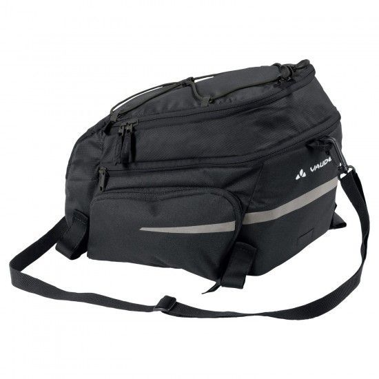 Vaude Silkroad Plus (9+7 L) Rack Bag Black