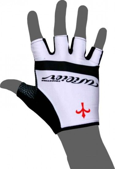 Wilier Short Finger Gloves Veloce White/Black