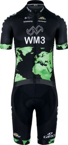 Giessegi Wm3 Pro Cycling 2017 Short Sleeve Jersey - Professional Cycling Team