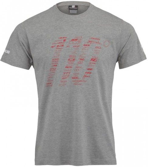 Wilier 110Th Anniversary Streetwear T-Shirt Grey