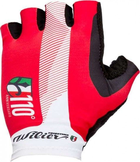 Wilier 110Th Anniversary Short Finger Cycling Gloves (Wl198)