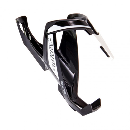 Wilier Custom Race Plus Bottle Cage Black/White/Glossy By Elite