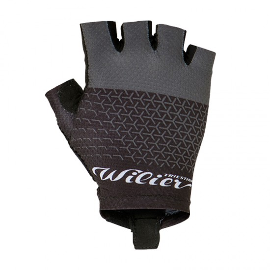Wilier Grinta Short Finger Cycling Gloves Black (Wl273B)