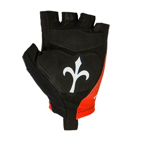 Wilier Grinta Short Finger Cycling Gloves Red (Wl273R)