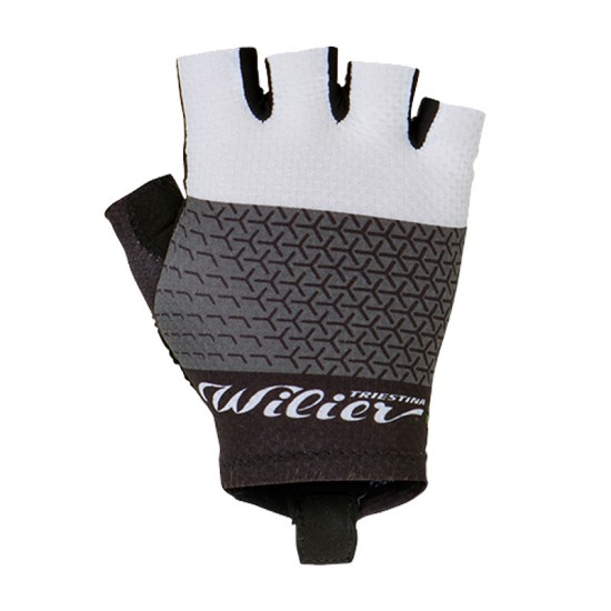 Wilier Grinta Short Finger Cycling Gloves White (Wl273W)