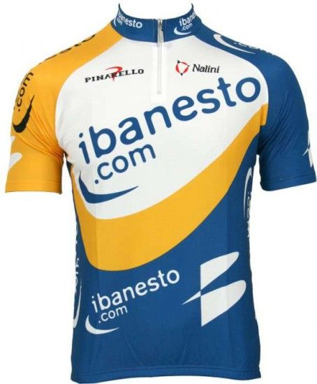 Nalini Ibanesto 2003 Tricot (Jersey Short Sleeve) - Professional Cycling Team