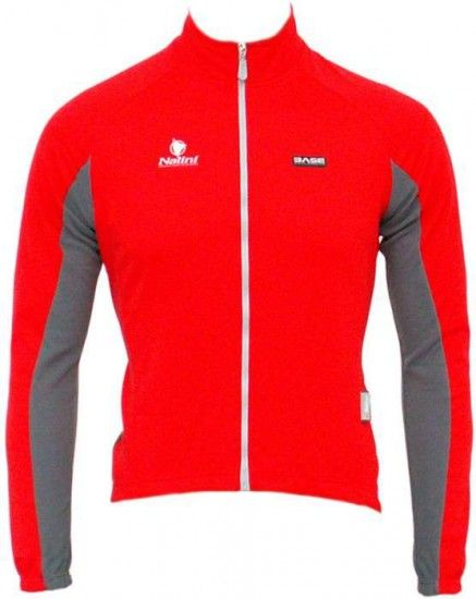 Nalini Base Cycling Jacket Quarzo Red