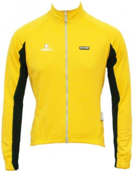 Nalini Base Cycling Jacket Quarzo Yellow