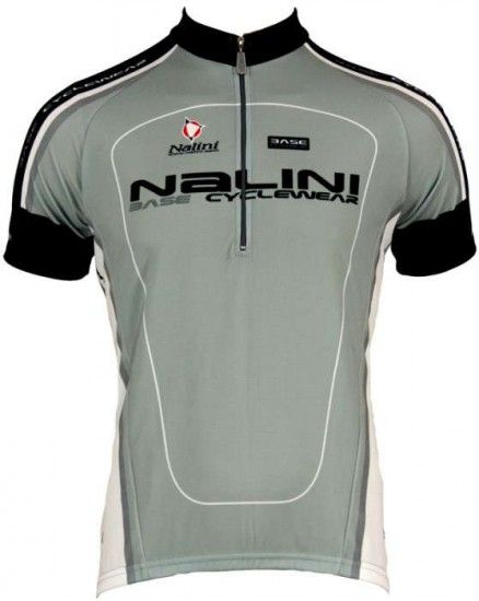Nalini Base Cycling Short Sleeved Tricot Argentite Grey