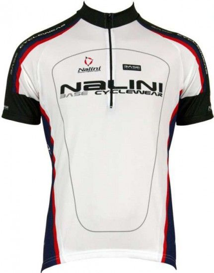Nalini Base Cycling Short Sleeved Tricot Argentite White