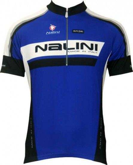Nalini Base Cycling Short Sleeved Tricot Magnetite Blue