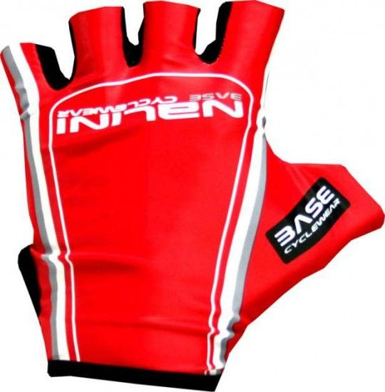 Nalini Basic Shortfinger Gloves Pulsatilla Red