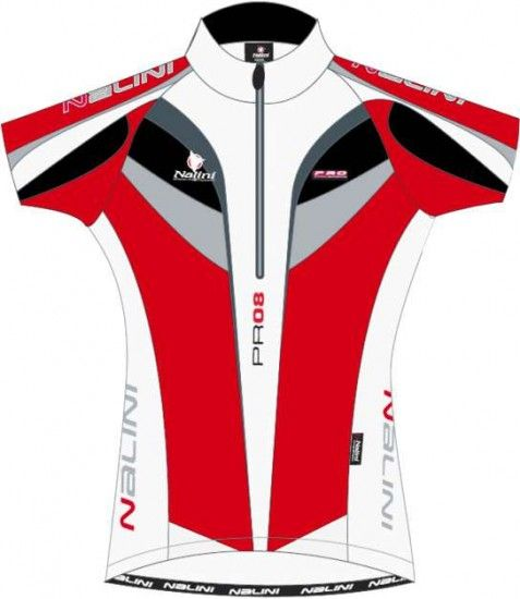 Nalini Pro Cycling Jersey For Kids Coyote Red