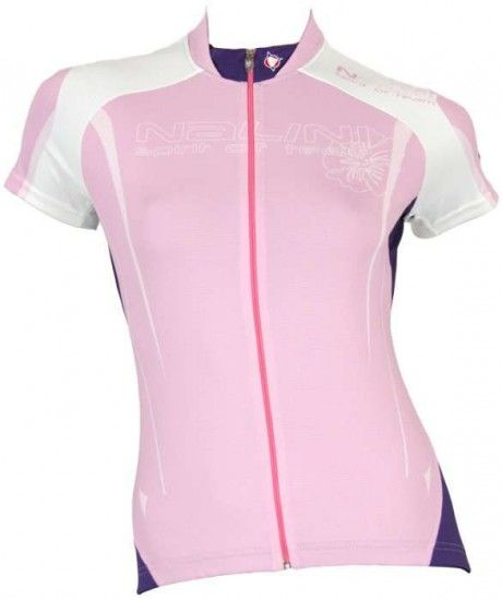 Nalini Pro Short Sleeved Lady Jersey Orchidea Rosè